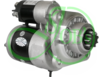 Стартер редукторный на ZETOR 12Вольт, 2.7 кВт