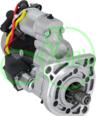 Стартер 12 Вольт 3,2 кВт на Case, Landini, Massey Ferguson, Ursus