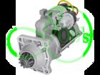 Стартер редукторный 24В, 6.6 кВт на DAF F2600, F2800, F3300, F3600, N2800