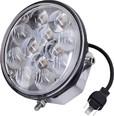 LED фара рабочая 36W (12x3W) 2640 lm - круглая (combo гибридный луч)