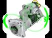 Стартер редукторный 24 Вольт, кВт 6.6 для KOMATSU