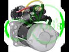 Стартер редукторный 24 Вольт, 7 кВт для FOTON, HOWO, SCANIA, WEICHAI