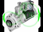 Стартер редукторный для JCB погрузчик 12В 4,2 кВт