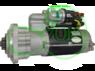 Стартер редукторный для Atlas Case JCB Massey-Fergusson Perkins McCormick Sampo 12В 4.2 кВт