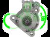 Стартер на CUMMINS HYUNDAI SAMSUNG 24 Вольт 8.1 кВт