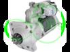 Стартер редукторный для Case 12 Вольт 4.2 кВт