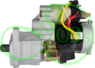 Стартер редукторный для JCB Isuzu Hitachi 24В 4.5 кВт