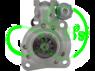 Стартер редукторный для DAF (CF, LF) 24В 6,6 кВт