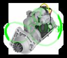 Стартер редукторный 24 Вольт, 8.1 кВт для URSUS, ZETOR