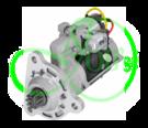 Стартер редукторный 8.1 кВт, 24 Вольт для VOLVO(BM)