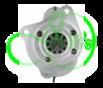 Стартер редукторный 12 Вольт, 3.2 кВт для Massey Ferguson, Perkins, Ursus