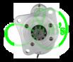 Стартер редукторный 12 Вольт, 3.2 кВт для MASSEY FERGUSON TRACTOR