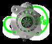 Стартер редукторный для ZETOR, 3.2 кВт, 12 Вольт