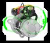 Стартер редукторный 6.6 кВт, 24 Вольт для SCANIA