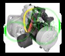Стартер редукторный 24 Вольт 4.5 кВт для YANMAR