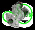 Стартер редукторный 12 Вольт 3.2 кВт для GEHL, CATERPILLAR,  MANITOU, MASSEY FERGUSON, PERKINS, TEREX